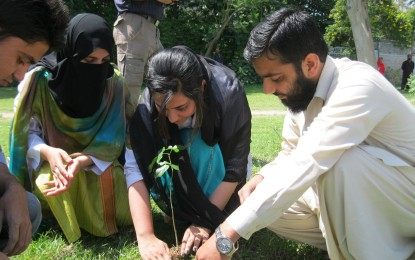National Youth Assembly launches plantation drive in Peshawar