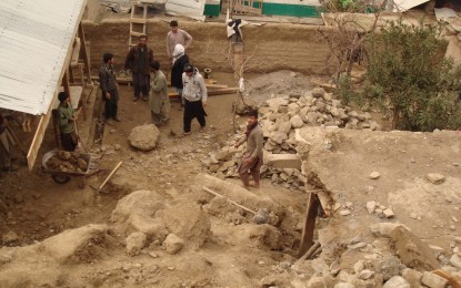 Rainfall and Earthquake: Two houses destroyed, one partially damaged, in Chitral