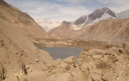 Chitral: Water level in the landslide lake continues rising, people move to safer areas