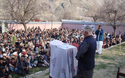 Work on 700 KV hydro power house started at Ayun, Chitral