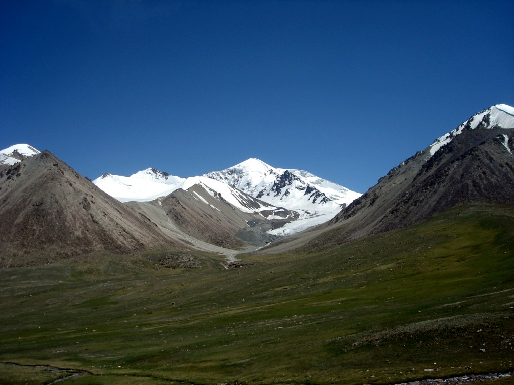 A beautiful view of the Khunjerab Top