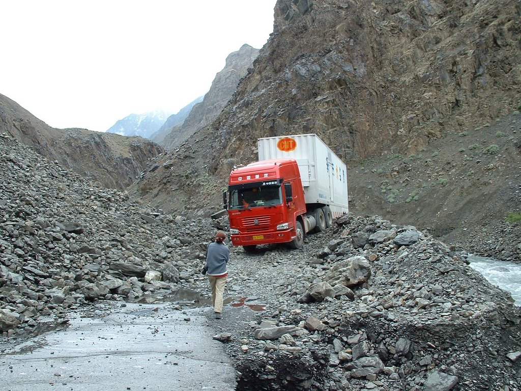 The road to Khunjerab has been improved considerably as part of the preparations for opening of the Pak-China Economic Corridor