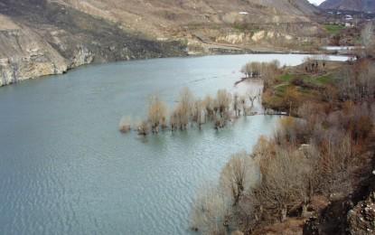 Chitral: Landslide blocks river flow, creates lake in Reshun Valley