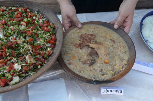 Dilya (Harisa) - a traditional cuisine