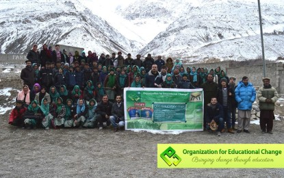 OEC conducts three educational expos in Chipursan Valley, Gojal