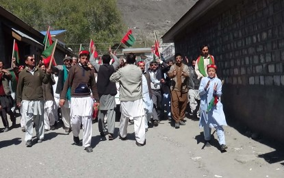 PTI holds unity march in Chitral