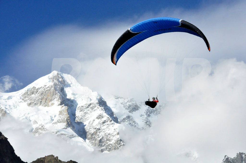 Every year a large number of paragliders come to the Hunza valley and other parts of Gilgit-Baltistan