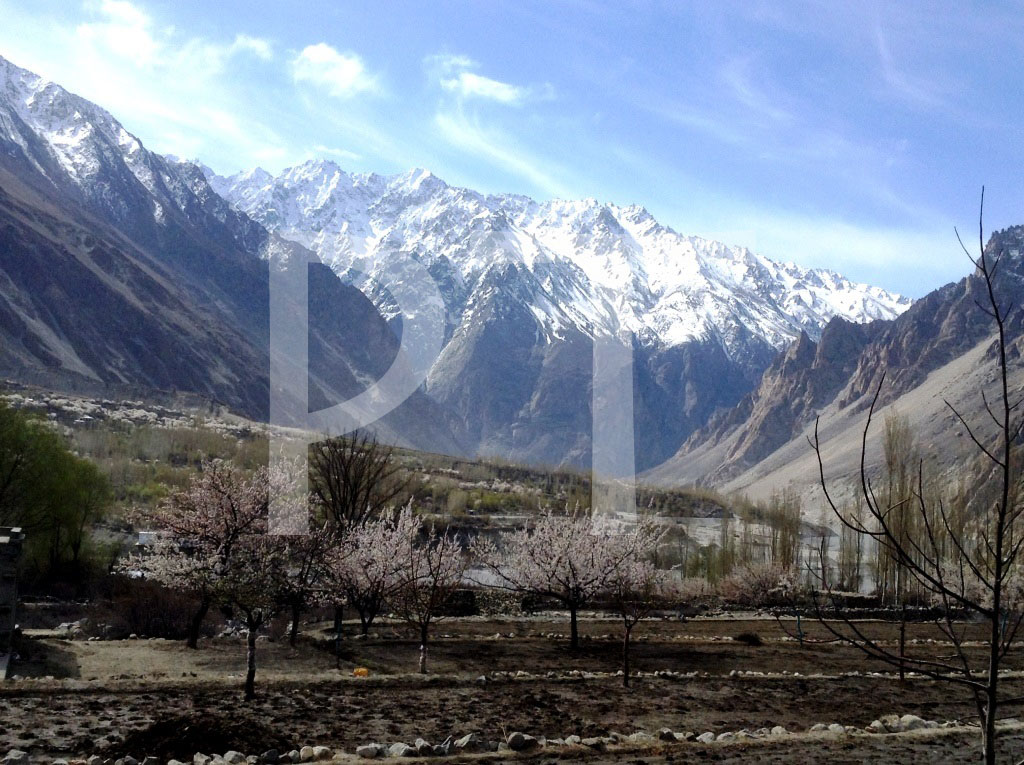 A view of the Shishkat village