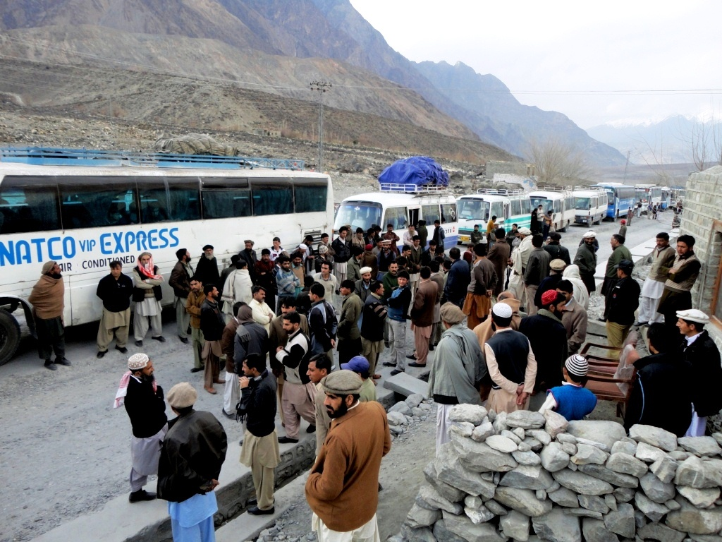 Convoy system ended, new security plan devised to keep passengers safe on KKH
