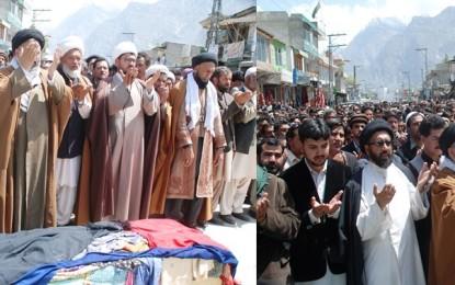 Nationalist leader Haider Shah Rizvi laid to rest in Skardu