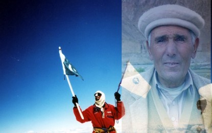 Renowned mountaineer Rajab Shah has passed away