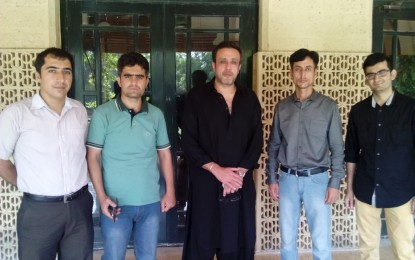 HGISF delegation calls on Shah Salim Khan to discuss youth issues