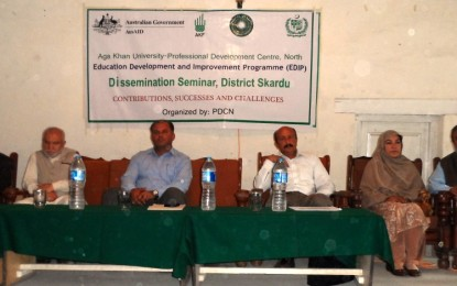 Skardu: Successes and Challenges of EDIP discussed at seminar