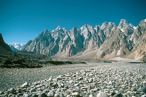 The view across the valley at Passu. Source: Flickr. Photo credit: Goth Phill.