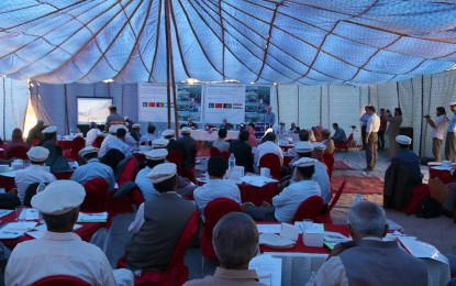 Symposium on 'sustainable development of Wakhi people' starts in Passu, Gojal