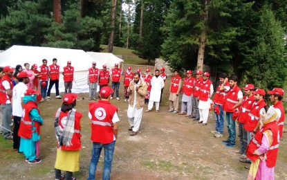 Promoting Volunteerism: PRCS GB organizes youth camp at Rama, Astore Valley