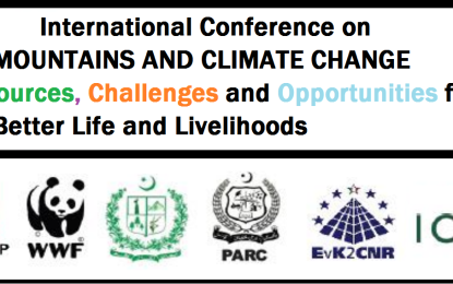 KIU to organize int'l conference on Mountains and Climate Change