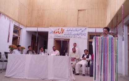 Union Council members honored at Brilliance School Kosht, Chitral