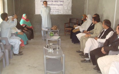 Formation meeting of District Electoral Reform Group held in Chitral