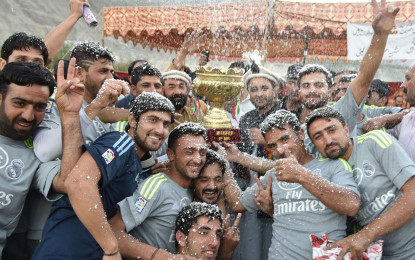 Pictorial – Shaheed-a-Aman Football Championship Concluded