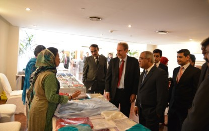 Creative Hands Alliance exhibition held in Islamabad