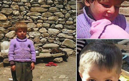 """Chilas: 4 year old kid was killed by some human with a sharp-edged weapon, not """"Jinns"""""""