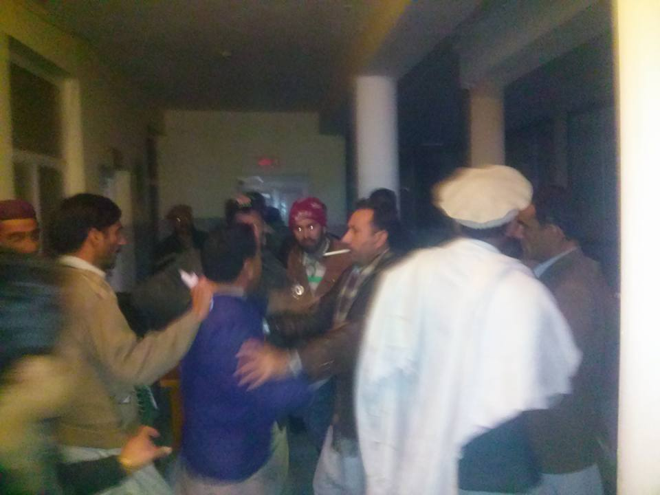 VIP Culture: GB Forest Minister thrashes receptionist at City Hospital, Gilgit