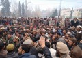 Gilgit: Protesting PWD and WASA employees up the ante, march towards CM secretariat demanding permanent jobs