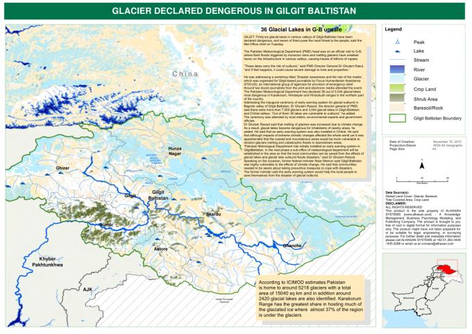 Glacier declared dengerous in Gilgit Baltistan – Pakistan | ReliefWeb