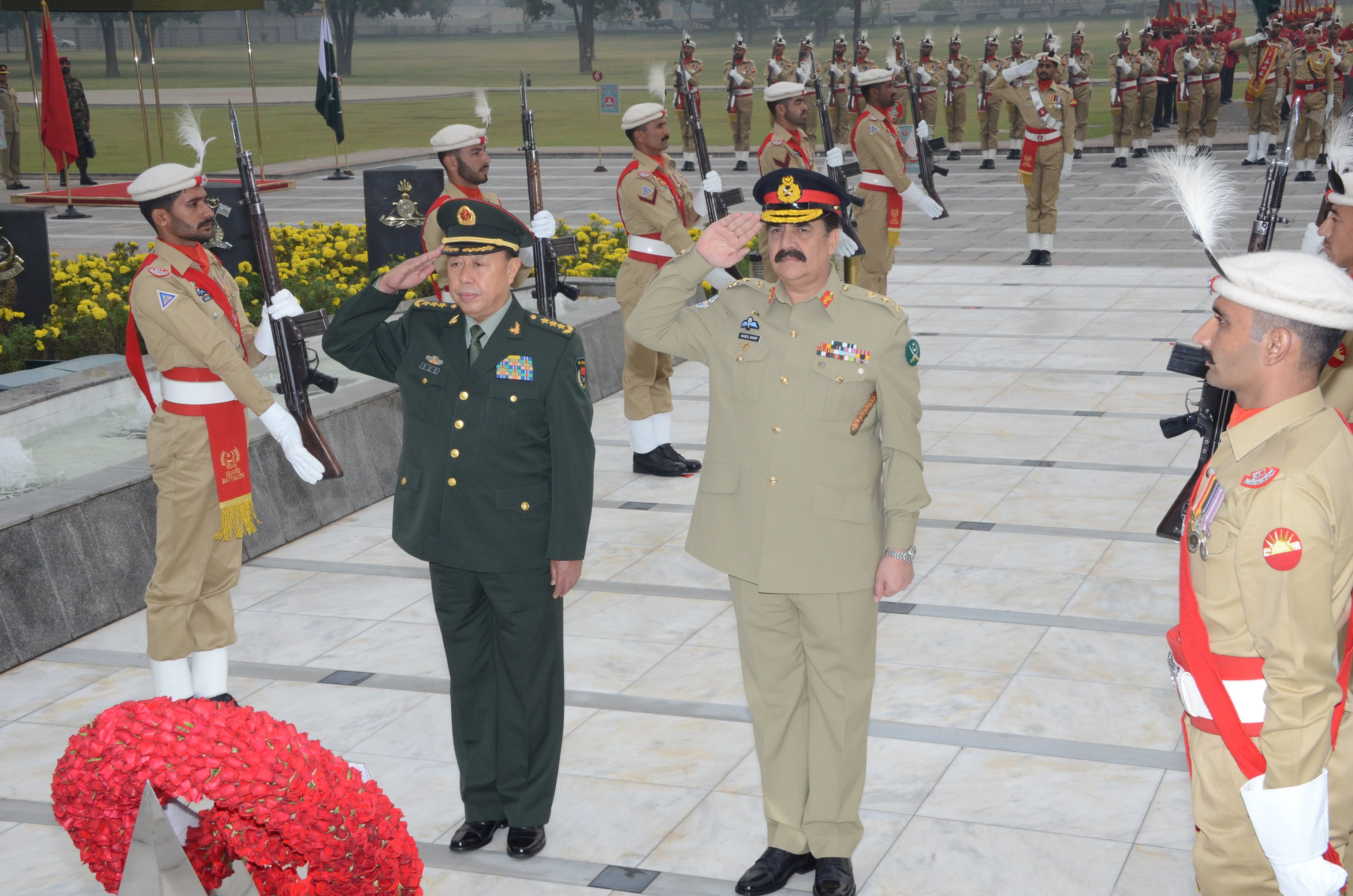 CPEC is equally beneficial to both China and Pakistan, says Gen Fan during meeting with COAS