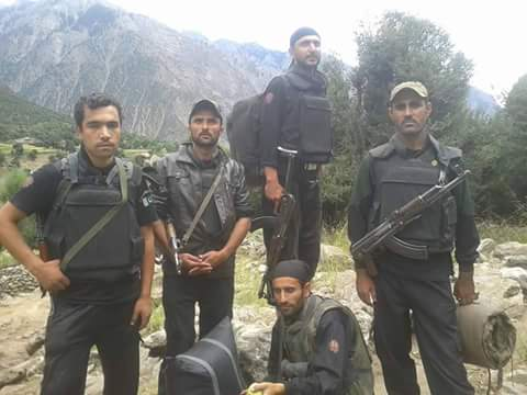 Tangir Valley: 7 Police officials injured in gunfight with suspected militants