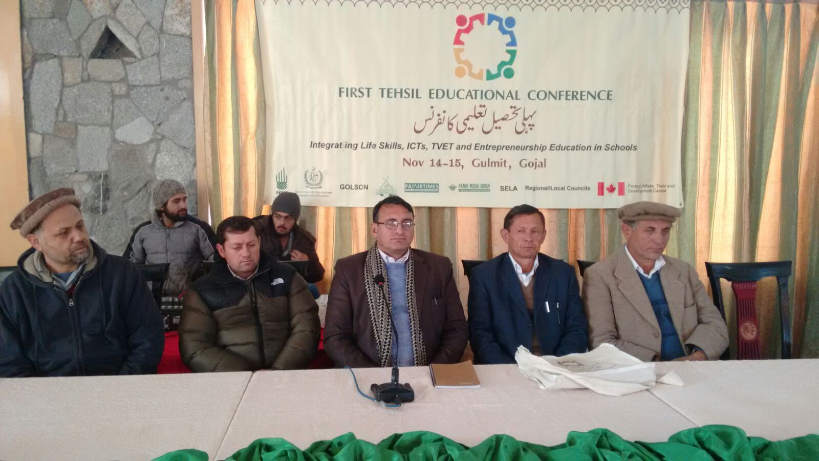 First Tehsil Education Conference underway in Gulmit, Gojal Valley