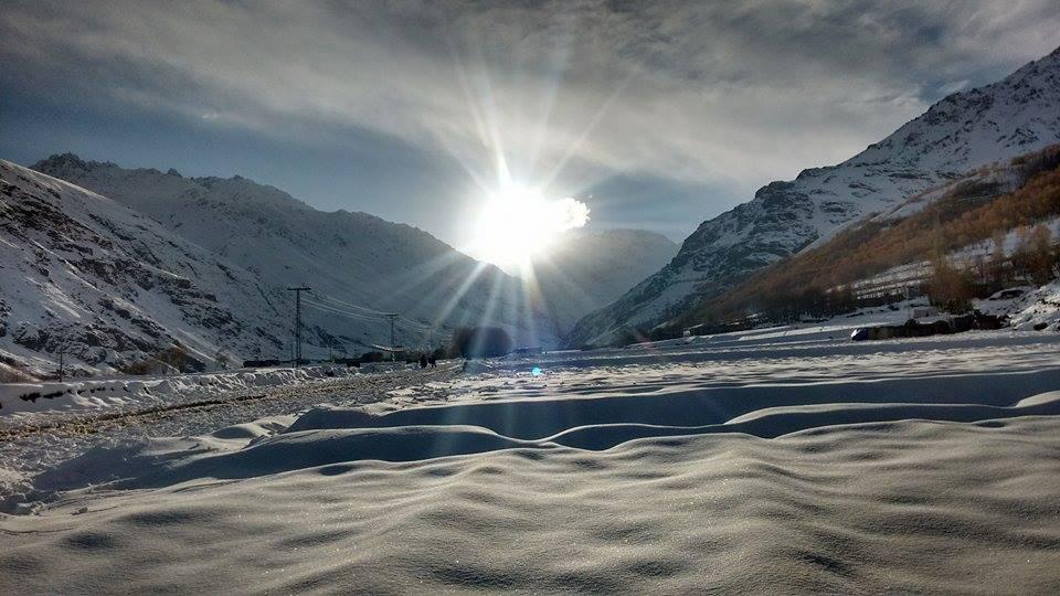 Stunning photographs of Phandar's winter beauty