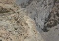 Road to Shimshal blocked due to breaking of a wooden bridge