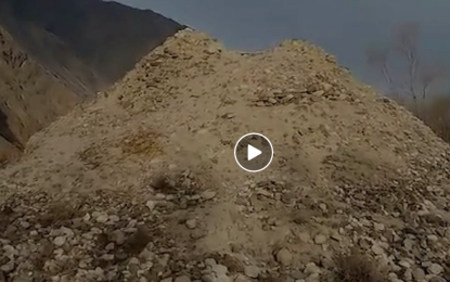 [Video] Ancient Hanzel Stupa- The ruined mounds in Hanzel near Gilgit