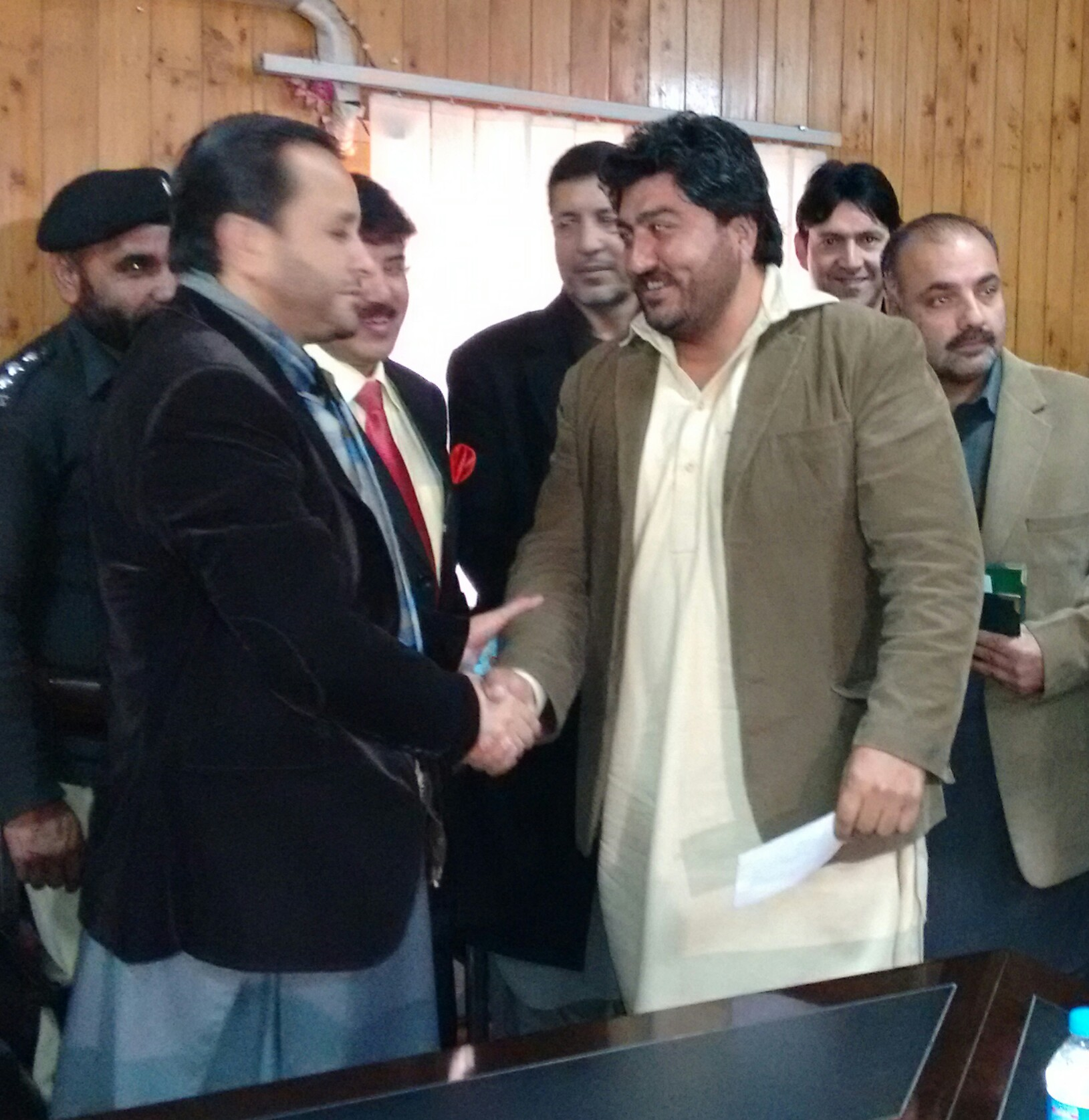 CM Gilgit-Baltistan distributes cheques among recipients of PM Youth Loan Scheme