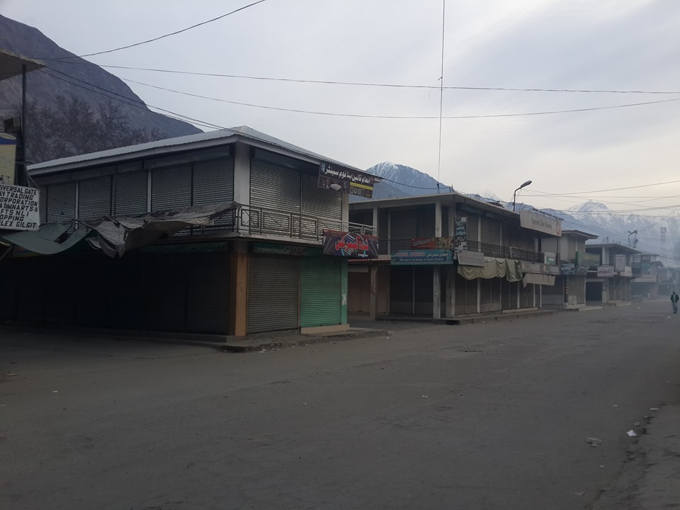 Anti-Tax Movement's strike brings life to a halt in Gilgit-Baltistan