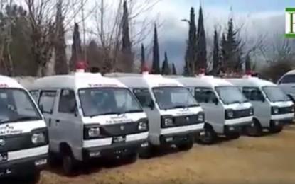 Pak Suzuki Family donates Ambulances to GBDMA