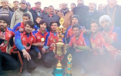 Gircha Eagles wins the Ishaq Memorial Volleyball Tournament