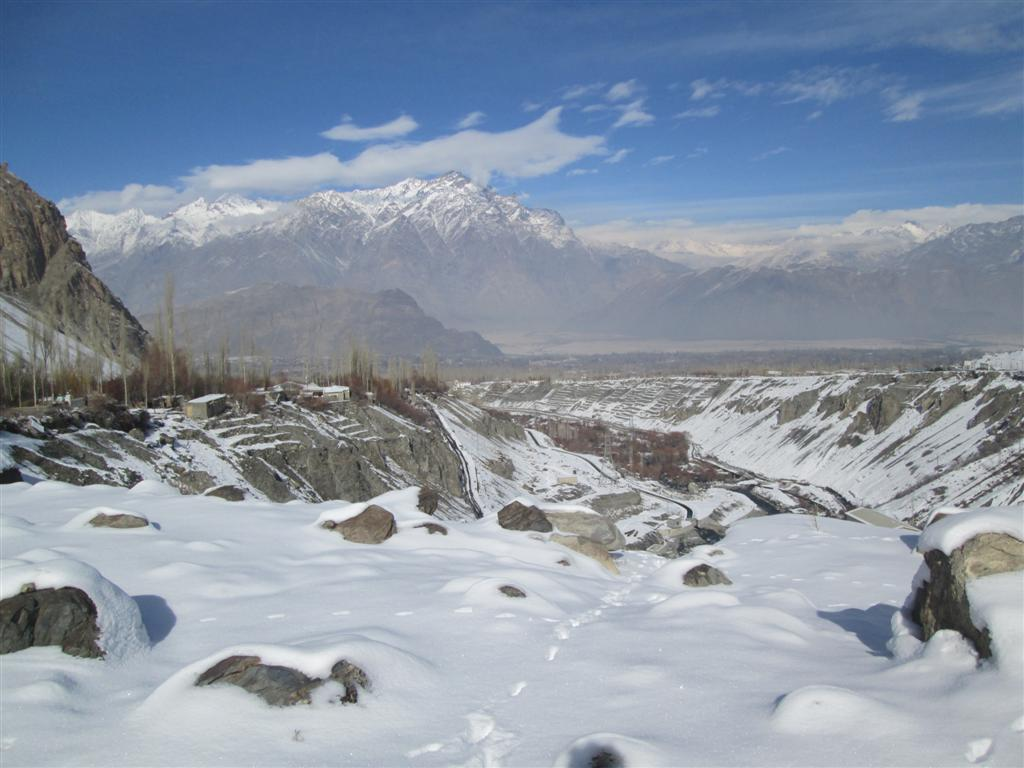Snow in Skardu – Pictorial