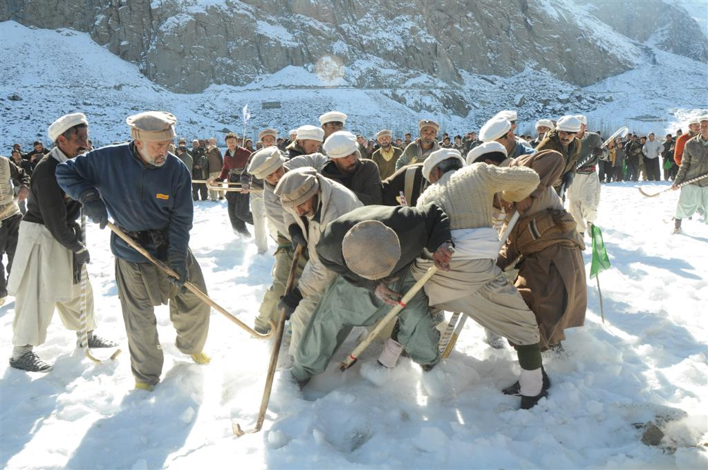 Winter sports gala in Skardu