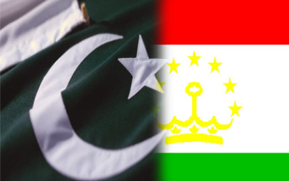 Pakistan, Tajikistan agree to enhance ties in all sectors