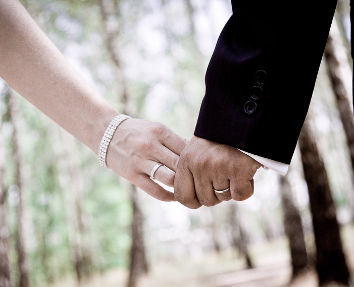 Marriage Holding Hands