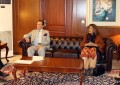 Governor Gilgit-Baltistan and Sartaj Aziz, PM's advisor on foreign affairs discuss future of GB