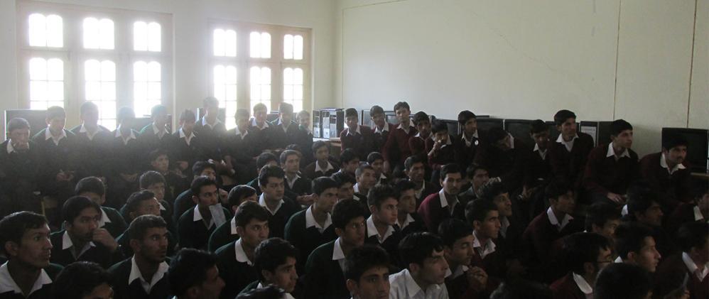 LUMS Team Visits Gilgit-Baltistan for talent hunt