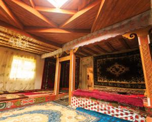 Inside views of a Pamiri House