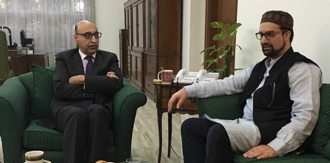 'No Change in Islamabad's Policy Regarding Gilgit Baltistan,' Pak Envoy tells Mirwaiz