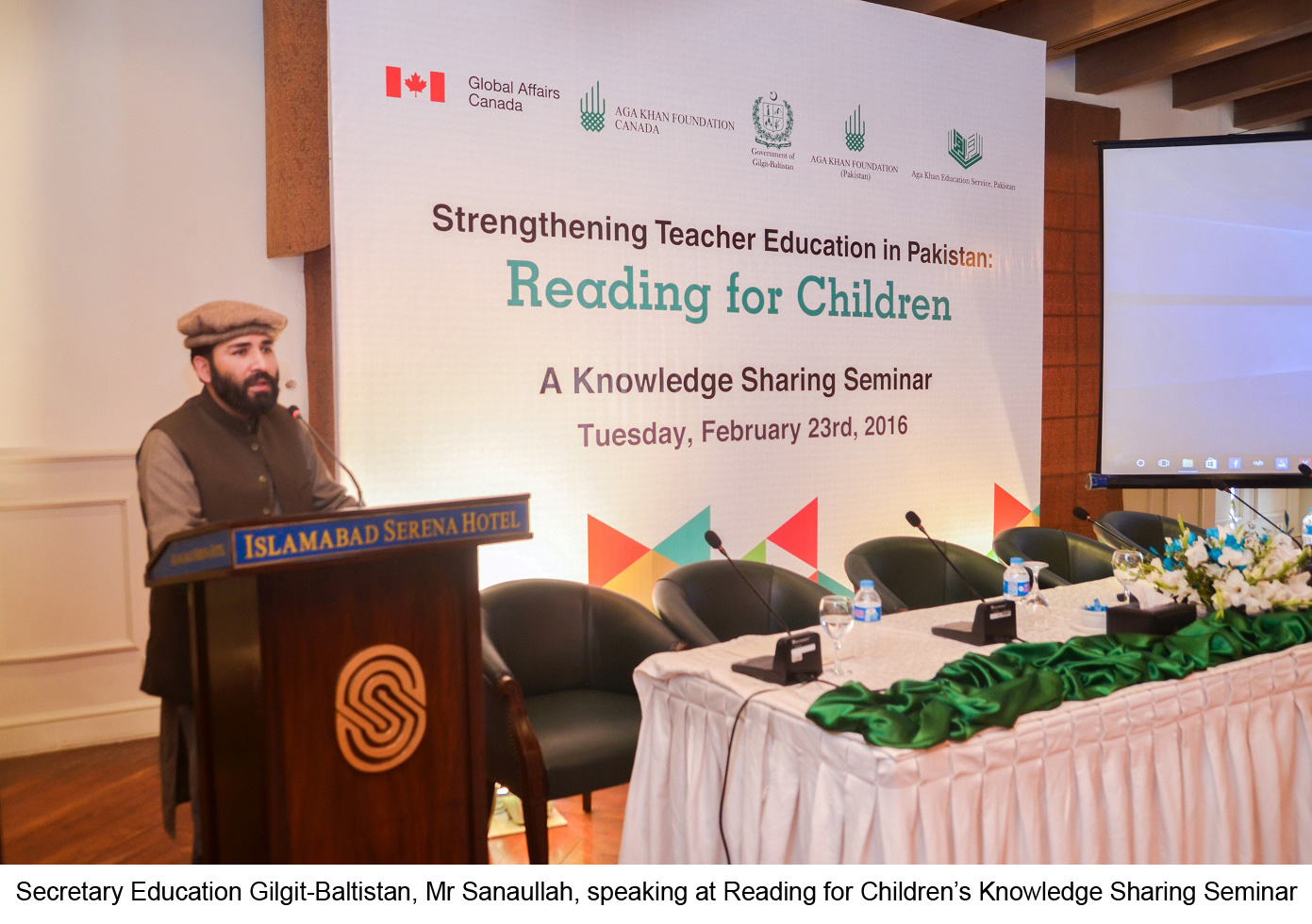 "Seminar held to discuss lessons from ""Reading for Children"" project"