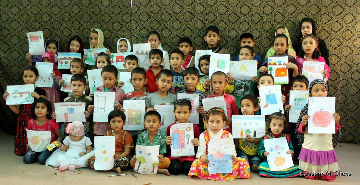 Students express themselves through colours and sketches at SSWO Annual Art Competition in Karachi