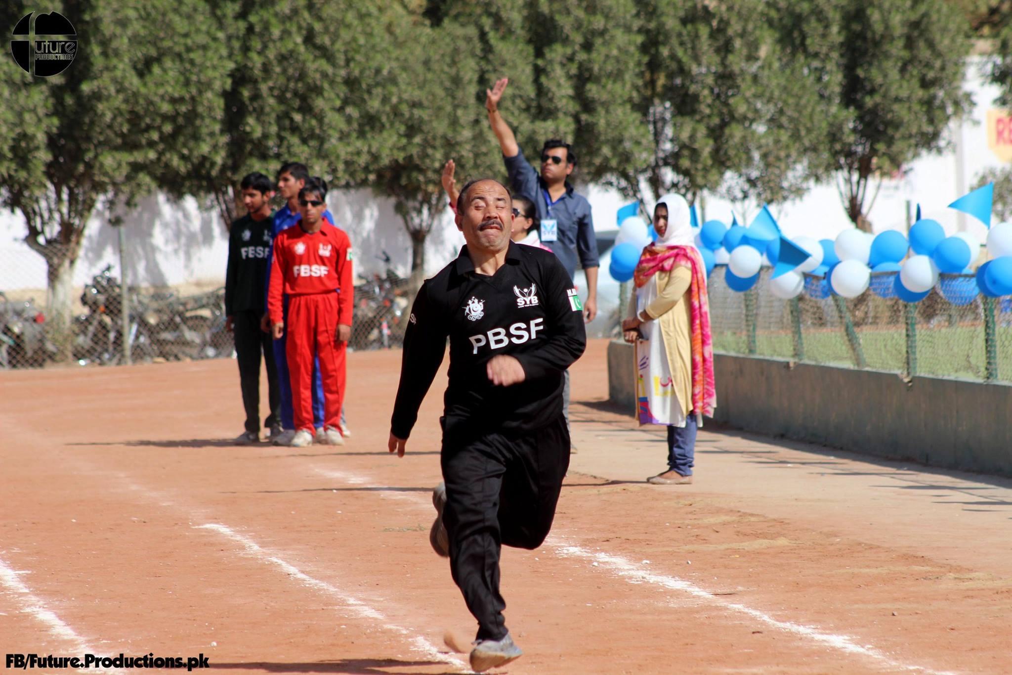 Team Gilgit-Baltistan participates in first Pakistan Blind Sports Festival – Pictorial
